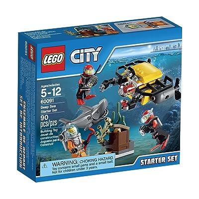 LEGO, City, Deep Sea Starter Set (60091): Toys & Games