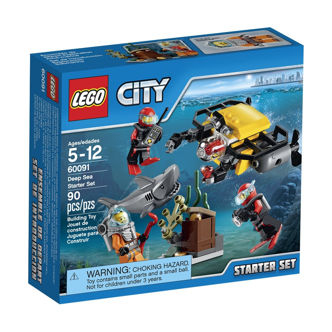 LEGO, City, Deep Sea Starter Set (60091)