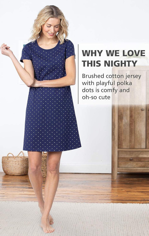 Soft Women Nightgowns PajamaGram Womens Sleep Shirts Cotton