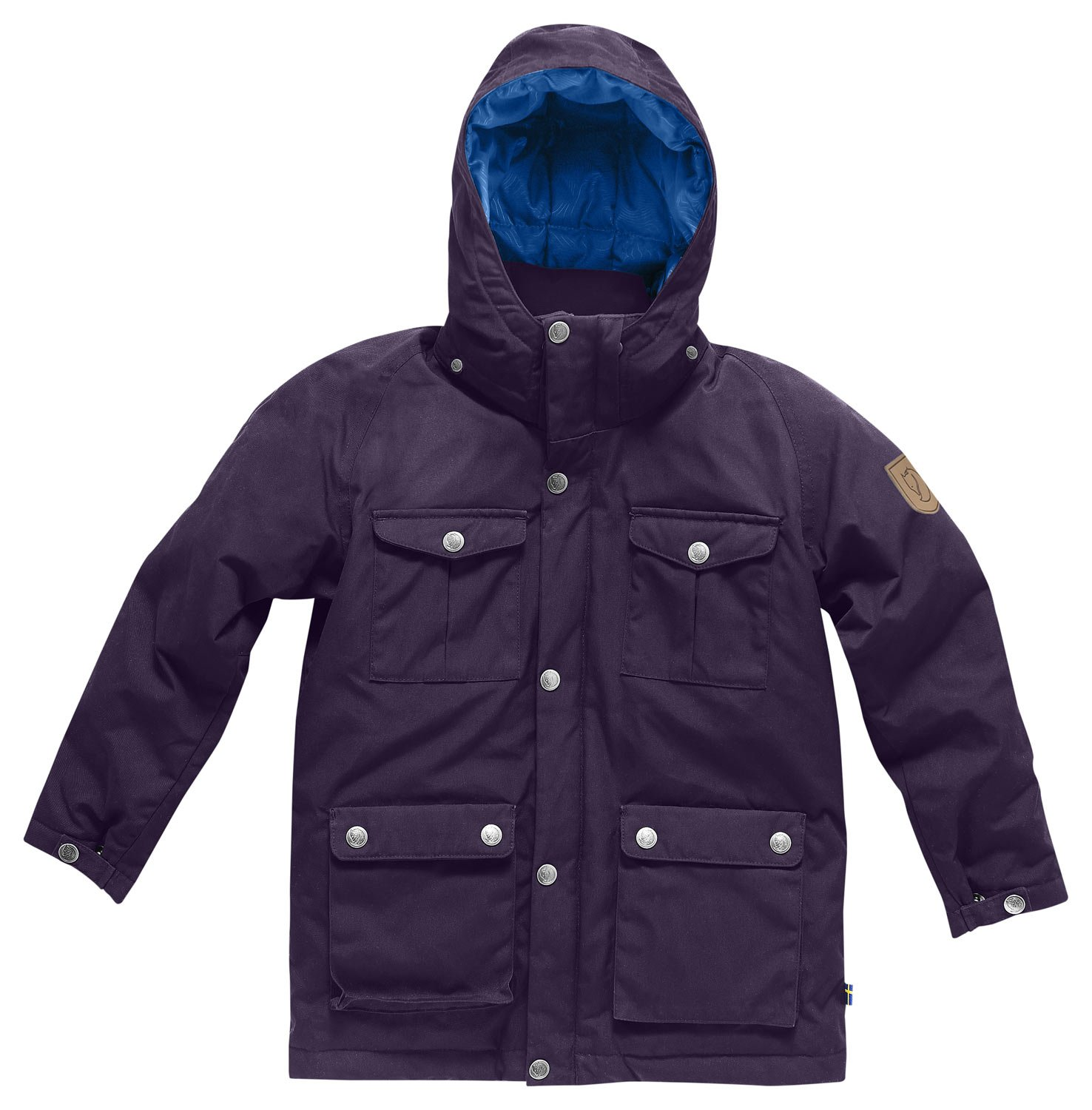 Fjallraven Kids Greenland Down Parka, Alpine Purple, 158