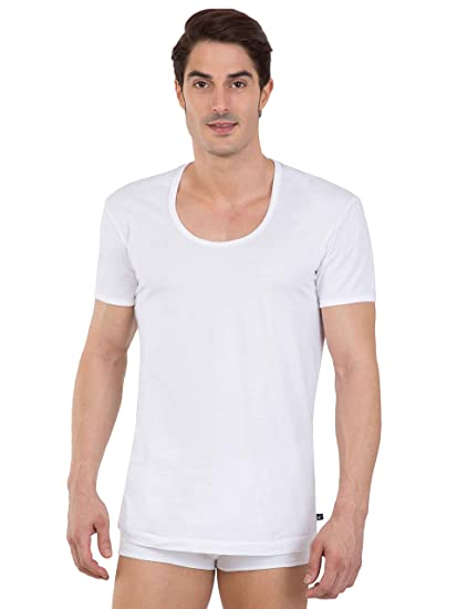 6432da5e Jockey Men's Cotton Undershirt (Pack of 2)  (8901326149911_8817_Small_White): Amazon.in: Clothing & Accessories