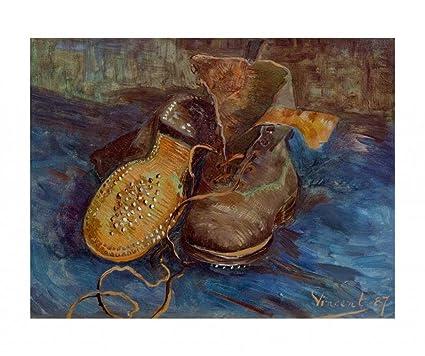 Cartel Elección Par Gogh Un Zapatos Van 10 Vincent De 0gaxq0Aw