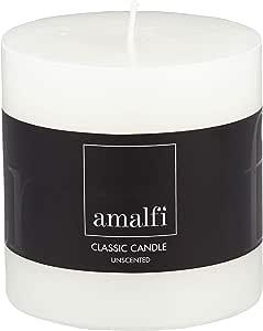 Amalfi Classic Unscented Pillar Candle