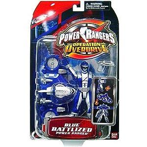 Power Ranger Operation Overdrive - Blue Battlized Power Ranger