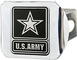 """product image for Military U.S. Army Hitch Cover, 4 1/2"""" x 3 3/8""""/Small, Black"""