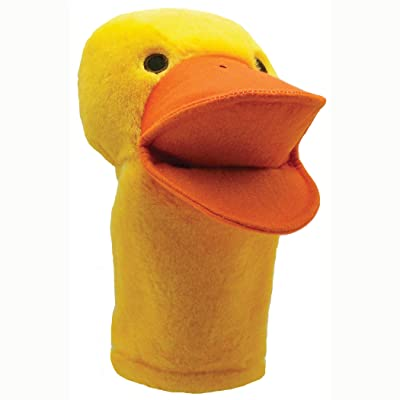 Get Ready Kids Duck Plush Hand Puppet Plush: Toys & Games