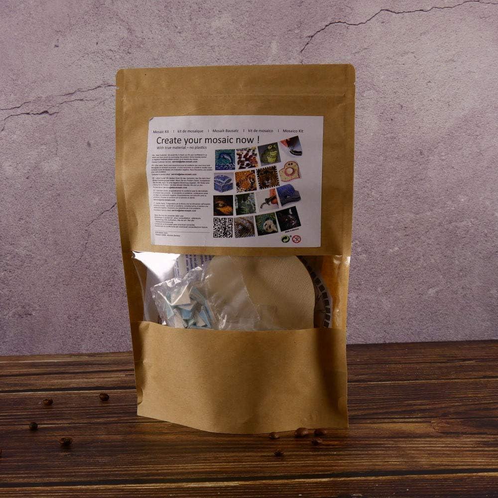 Tea Light Base Green Mosaic Craft Kit