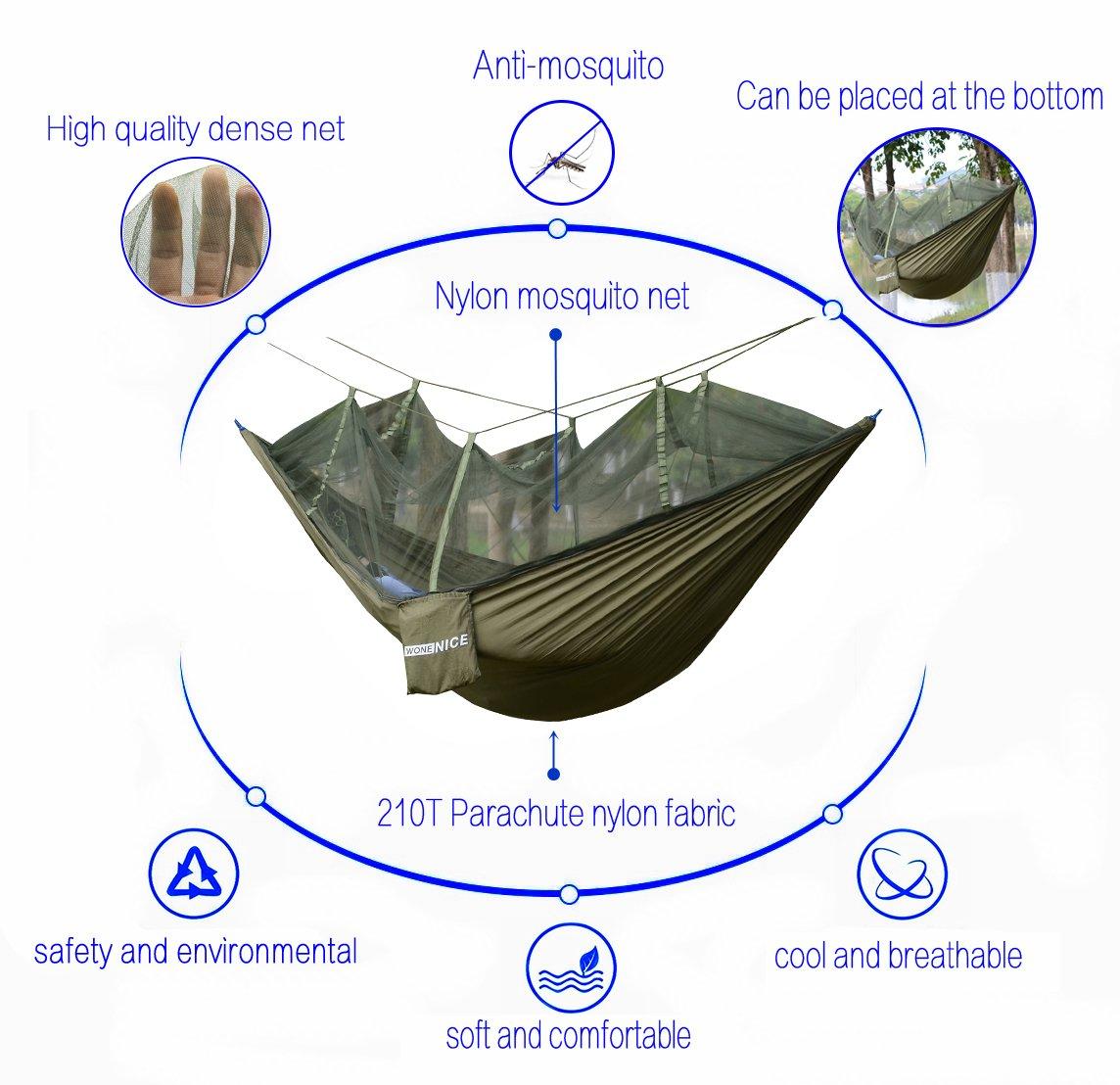 WoneNice Lightweight Parachute Multifunctional Backpacking Image 3