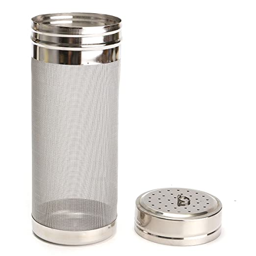 2 opinioni per KING DO WAY 300 micron Homebrew Canna in Acciaio Inox Luppolo da Saccharomyces