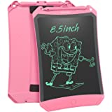 (Upgrade Version) 8.5 inch Robot Pad with Lock Button Brighter Writing - HOMESTEC Graphics Drawing Board, Magnetic Fridge Mes