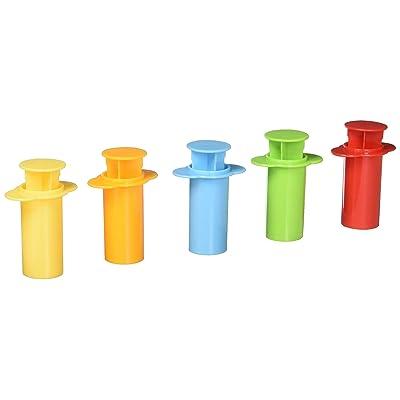 Lot 5pcs Moule Pate ¨¤ Modeler Extrusion Seringue Outil de Elaboration Pour Enfant