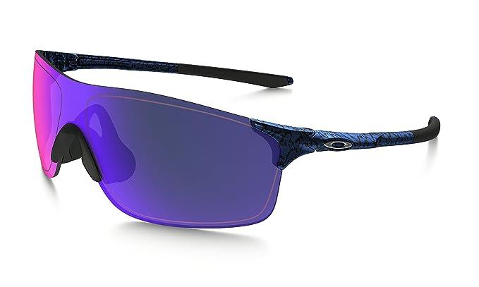 1a0a5f3e13 Oakley Men s Evzero Pitch (a) Non-Polarized Iridium Rectangular Sunglasses  Planet x 38