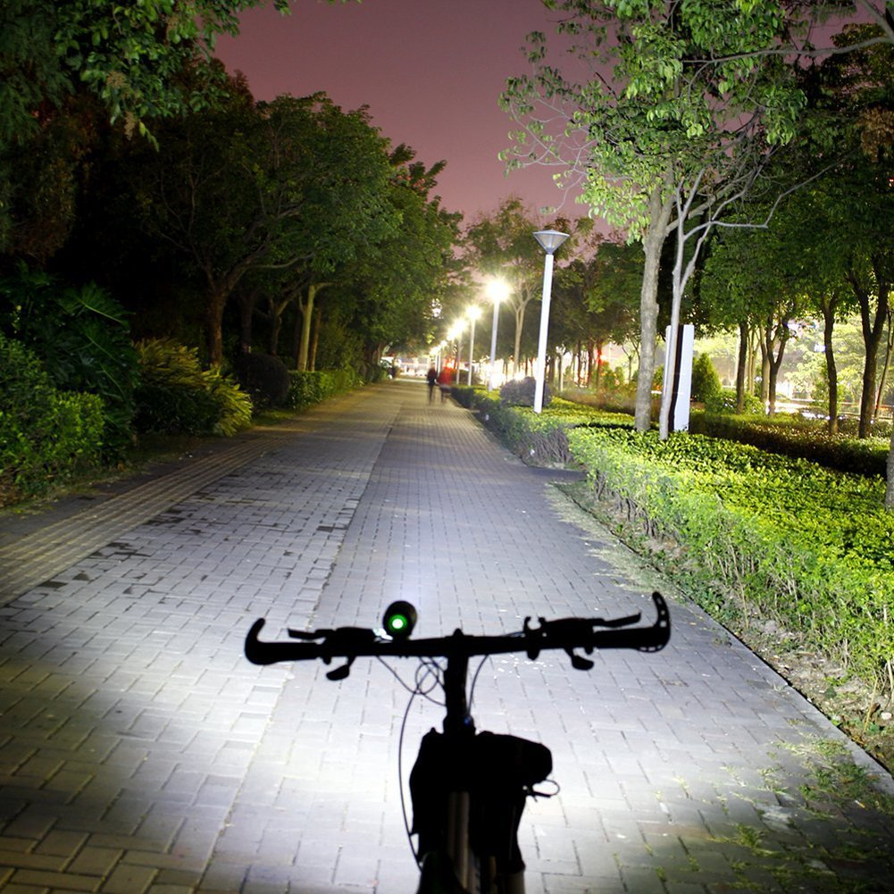 Xinkaite Led Bike Light 3 Mode 7x Cree Xm L T6 10000