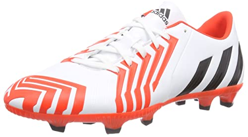 wholesale dealer dfe4b b4528 adidas Predator Absolado Instinct FG, Botas de fútbol para Hombre, FTWR  WhiteCore BlackSolar Red, 42 EU Amazon.es Zapatos y complementos