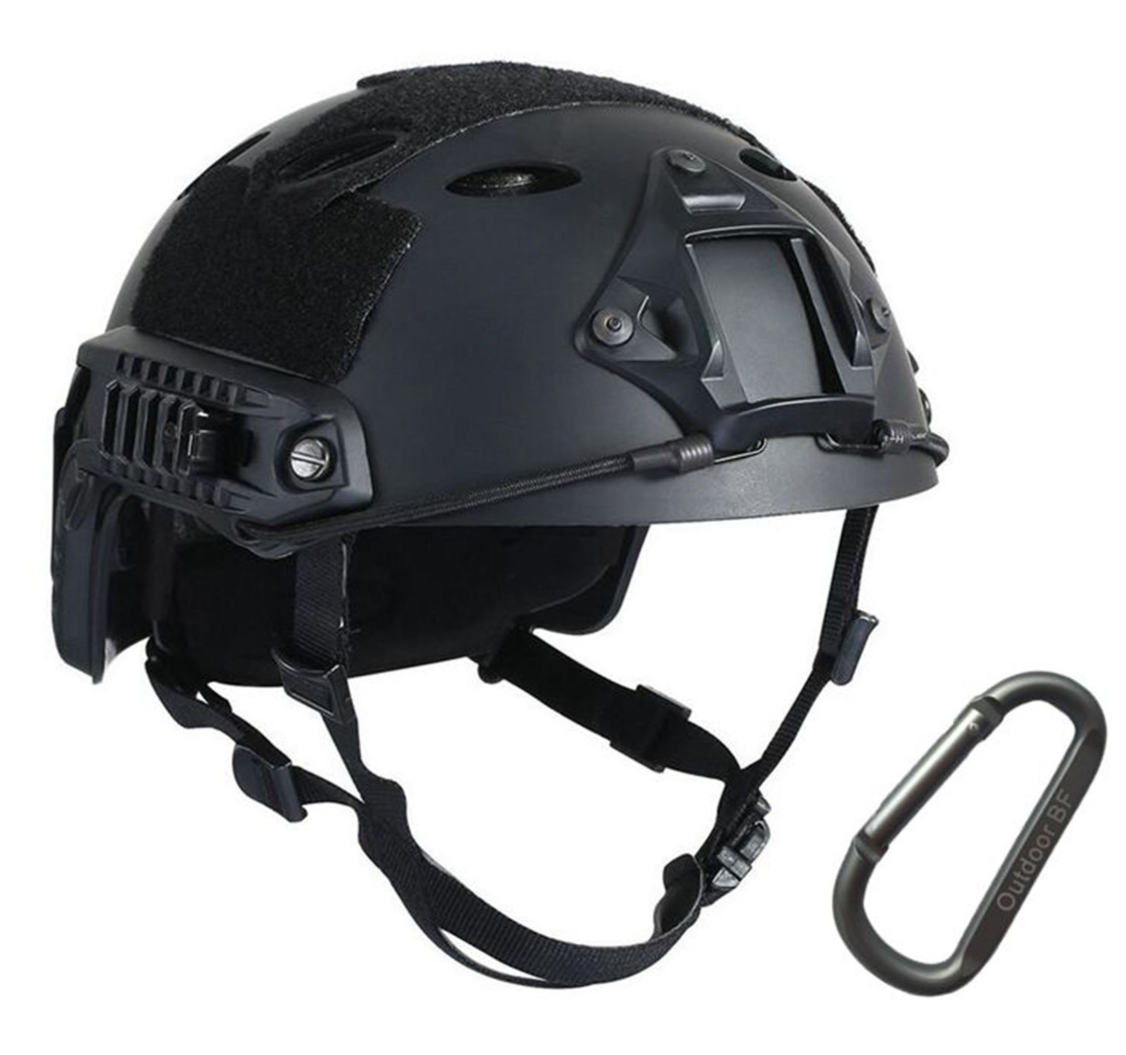 Tactical Fast Adjustable Helmet PJ Type (BK) by Outdoor BF