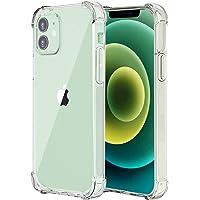 """USTIYA Funda para iPhone 12 Case y iPhone 12 Pro Case 6.1"""" Carcasa Bumper,Shock-Absorción TPU Transparente Cover con…"""