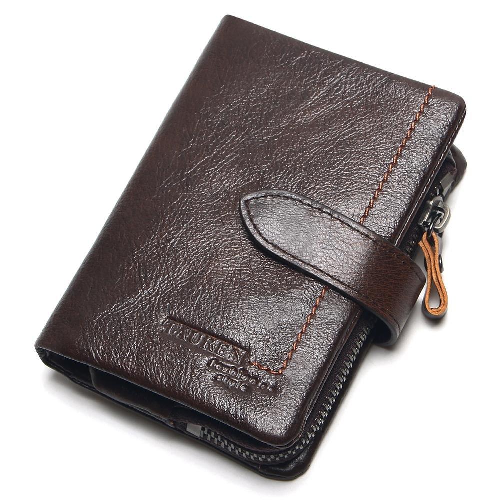 TADEQIAN Abnehmbare Reißverschlusstasche Männer Vintage Brieftaschen Brieftaschen Brieftaschen 100% Öl Wachs Pu Brieftasche Mode Marke Brieftasche Kartenhalter Brieftasche B07GZRQZ65 Jungen Verkaufspreis a3bdb6