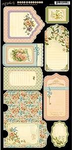 Graphic 45 Secret Garden Tags & Pockets