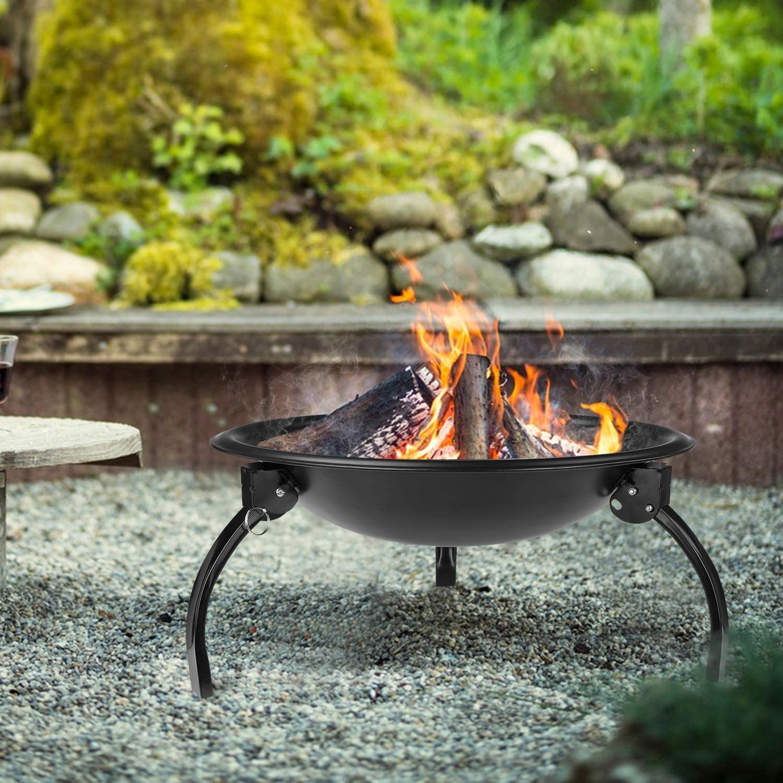 Femor Barbecue Grill Ext/érieur Portable,Pliable,Petit Brasero dext/érieur au Charbon,Jardin Grill brasero,pour Jardin Terrasses BBQ,Le Barbecue en Plein air,Le Camping et Le Pique-Nique