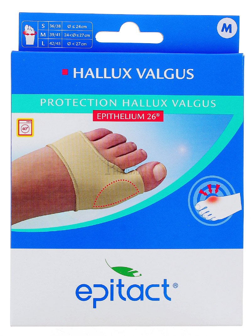 Epitact Protection for Hallux Valgus - Cut: 39/41