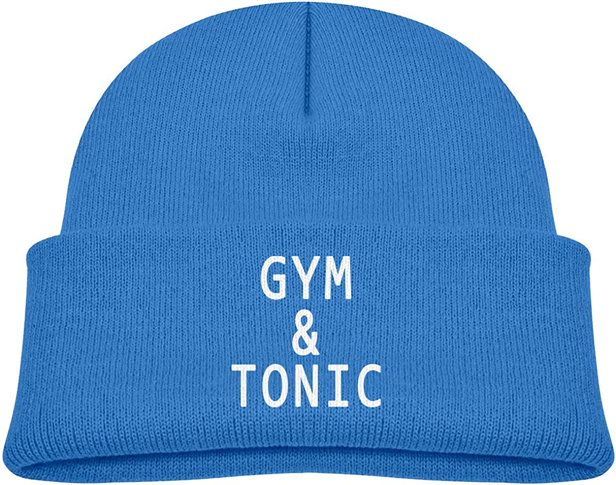 ADGoods Kids Children Gym And Tonic Beanie Hat Knitted Beanie Knit Beanie for Boys Girls Berretto da Baseball per Bambini