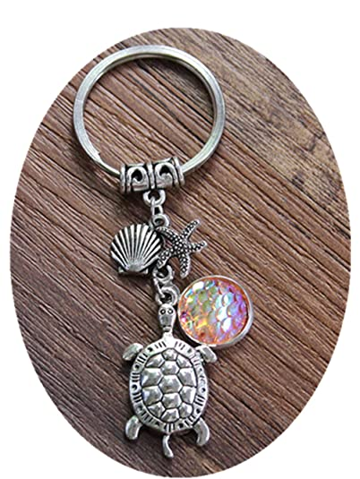 Amazon.com: SDFBMJN Turtle Keychain, Best Friends Keychains ...