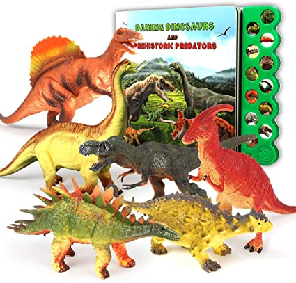 Dinosaur sounds book bundle