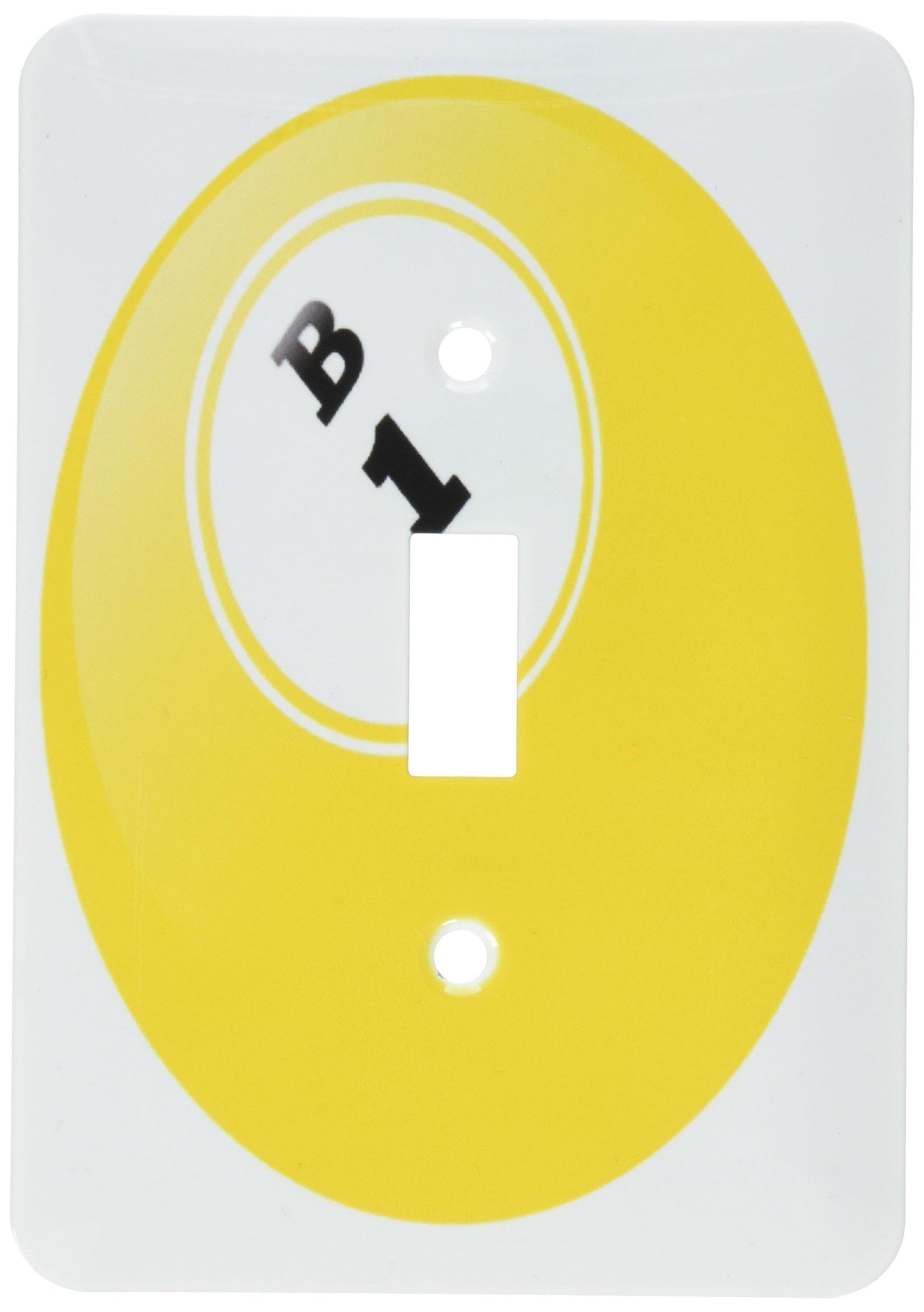 3dRose lsp_50293_1 Bingo B 1 Single Toggle Switch