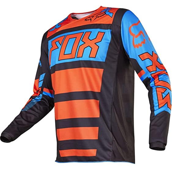 Fox Racing 180 Falcon Youth Boys Off-Road Motorcycle Jerseys - Black/Orange  /