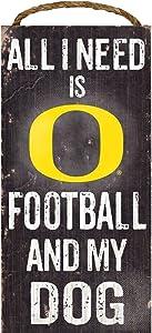 Fan Creations Dog Sign University of Oregon Football, Multicolored