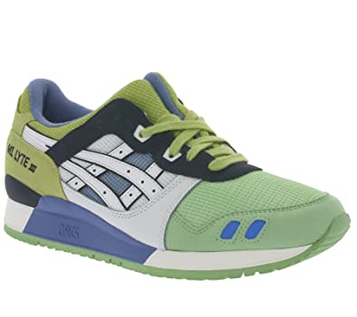 Asics Gel Lyte III Schuhe Sneaker Turnschuhe Grün H629N 0101
