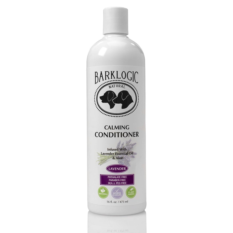 BarkLogic Calming Conditioner, Lavender, 16 fl oz Grooming Essentials for A Healthy Coat No Parabens, No Phthalates, No Sulfates, No DEA & PEG, Hypoallergenic, Vegan