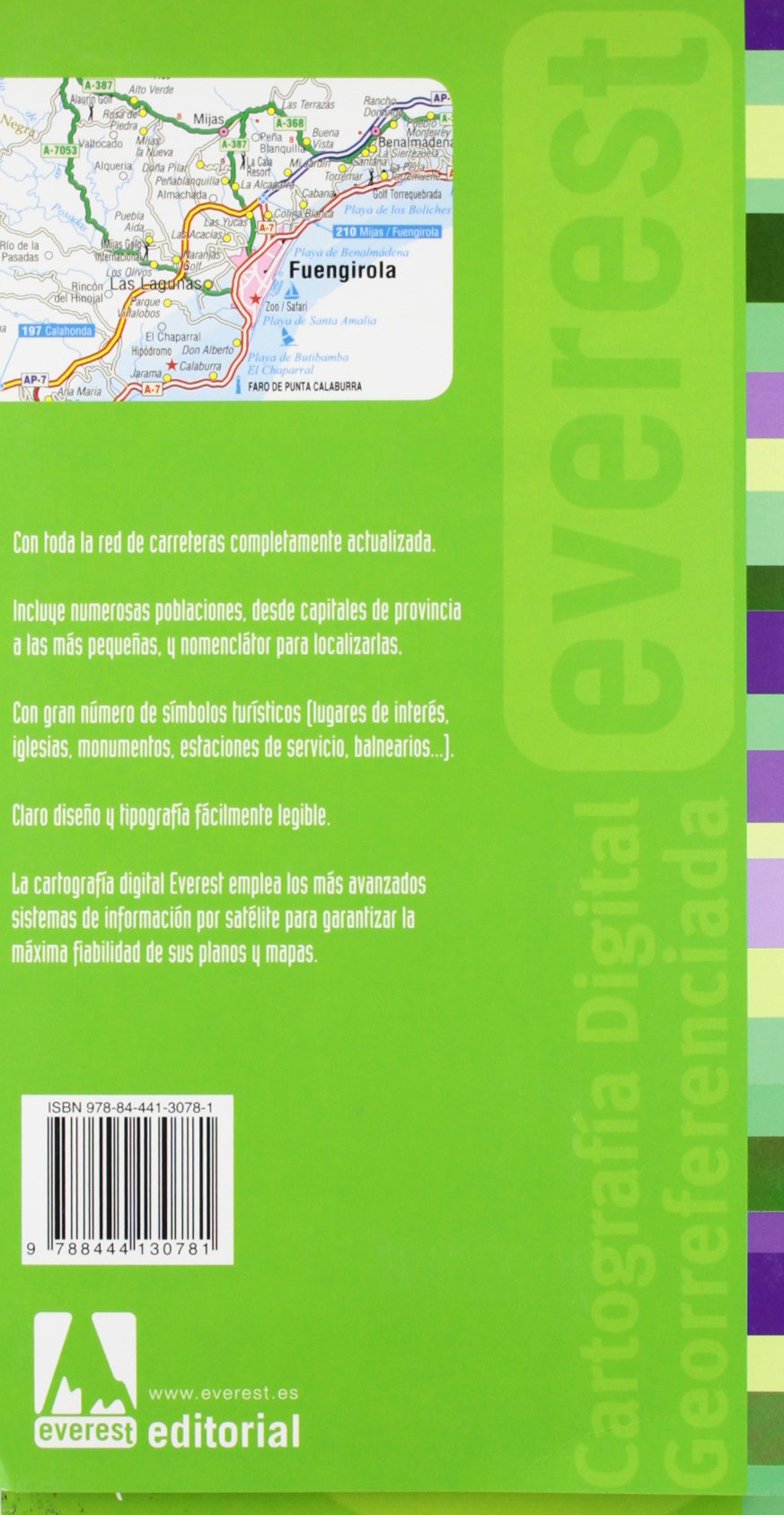 Mapa de carreteras de Málaga: Editorial Everest: 9788444130781: Amazon.com: Books