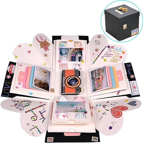 Amazon Com Tinton Life Creative Diy Explosion Box Scrapbook Photo