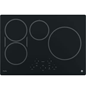 "GE PHP9030DJBB Profile 30"" Black Electric Induction Cooktop"