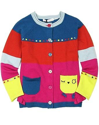 68fcb3860158 Deux par Deux Little Girls  Knit Cardigan Owl You Need is Love ...