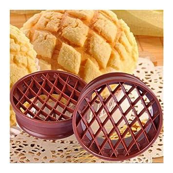 LJSLYJ: Molde de plástico para pan, pasteles, galletas, moldes para repostería de cocina: Amazon.es: Hogar