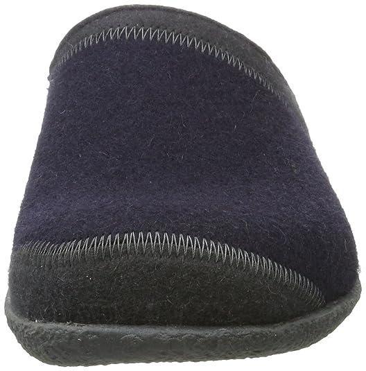 Pixel Haflinger Everest, Zapatillas Vivant Par Adulte Maison Unisexe, Bleu (mittelblau 70) 36 I
