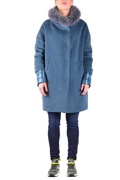 Herno EZBC034008 Mujer Azul Claro Lana Abrigo: Amazon.es: Ropa y accesorios