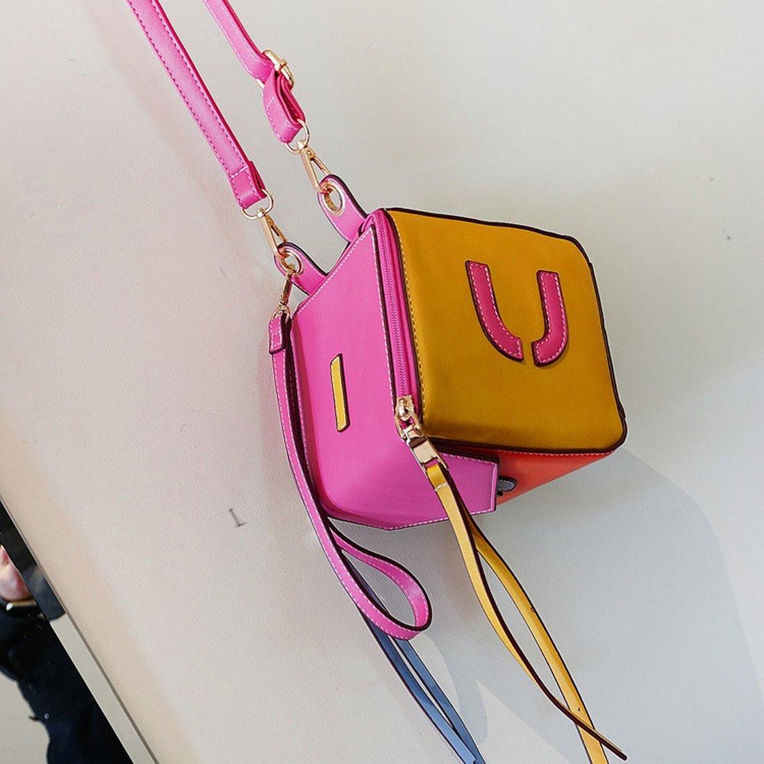 54b910f780834 ... YTTY Doppelter Schulter mit der horizontalen Tasche Tasche Tasche mit  Quadrata Mini Tasche aus Reiner Polyester ...