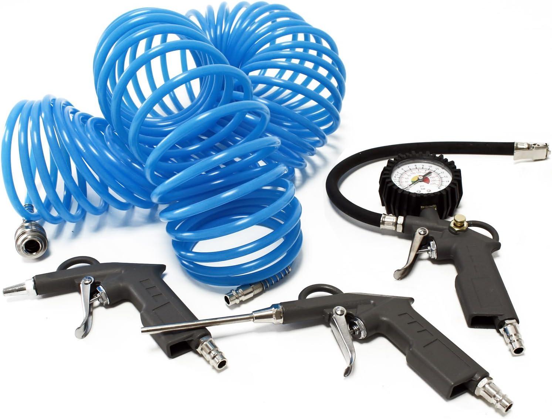 Reifen Füllgerät Reifenfüller Druckluftschlauch Schnellkupplung L3W8 W4F7