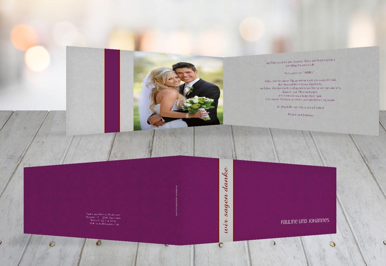 Kartenparadies Danksagung für Hochzeitsgeschenke Dankeskarte Für immer, hochwertige Danksagungskarte Hochzeitsglückwünsche inklusive Umschläge   20 Karten - (Format  215x105 mm) Farbe  MatschgruenDunkel B01NAVRWMT | Billiger als d