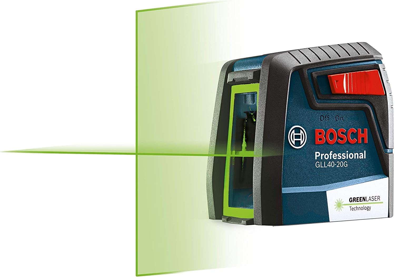 Nivel láser automático Bosch GLL40-20G (luz verde)