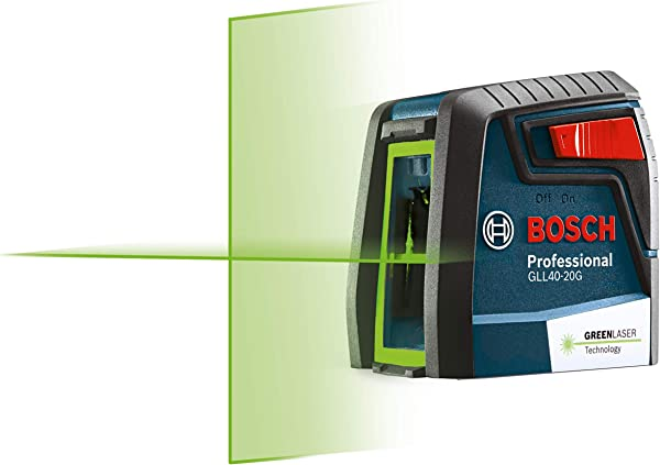 Bosch GLL40-20G Self-Leveling Cross-line Laser Level