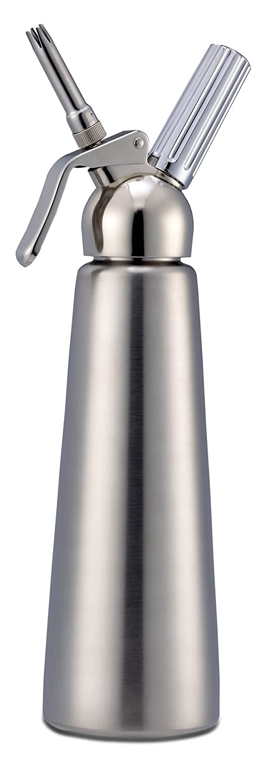 Chef Master Professional Whipped Cream Dispenser and Head, 1-Litre
