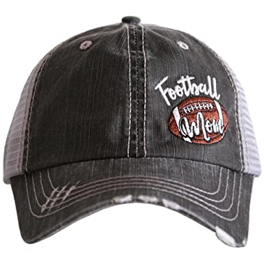 Katydid Football Mom Side Patch Baseball Hats Caps by at Amazon Women s  Clothing store  119d96d134