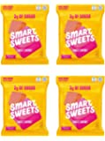SMART SWEETS SMART CHEWS HEALTHY STARBURST CANDY 4 PACK LOW SUGAR KETO FRIENDLY