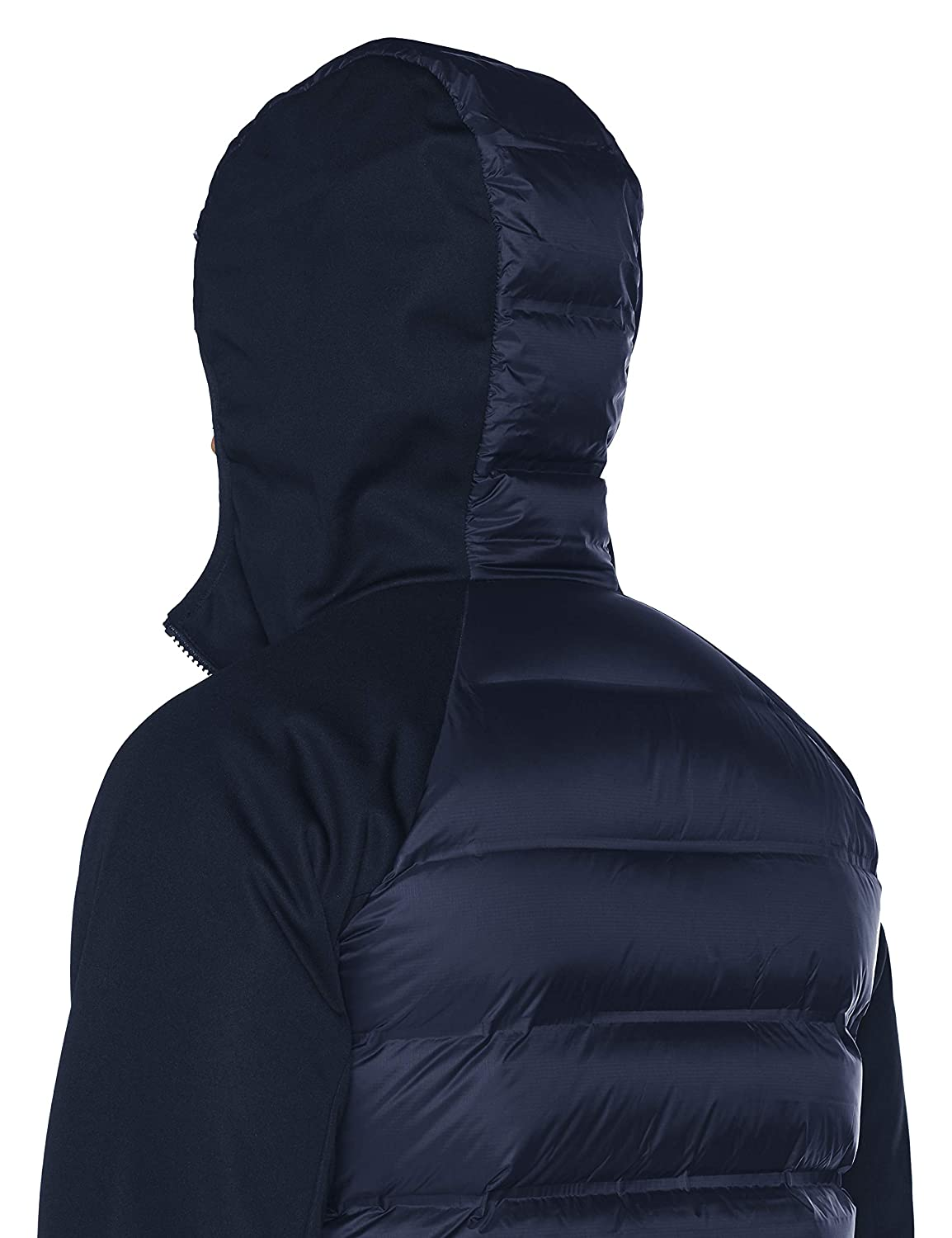Amazon.com: Columbia Rejuvenation Down Hybrid Hooded Jacket ...