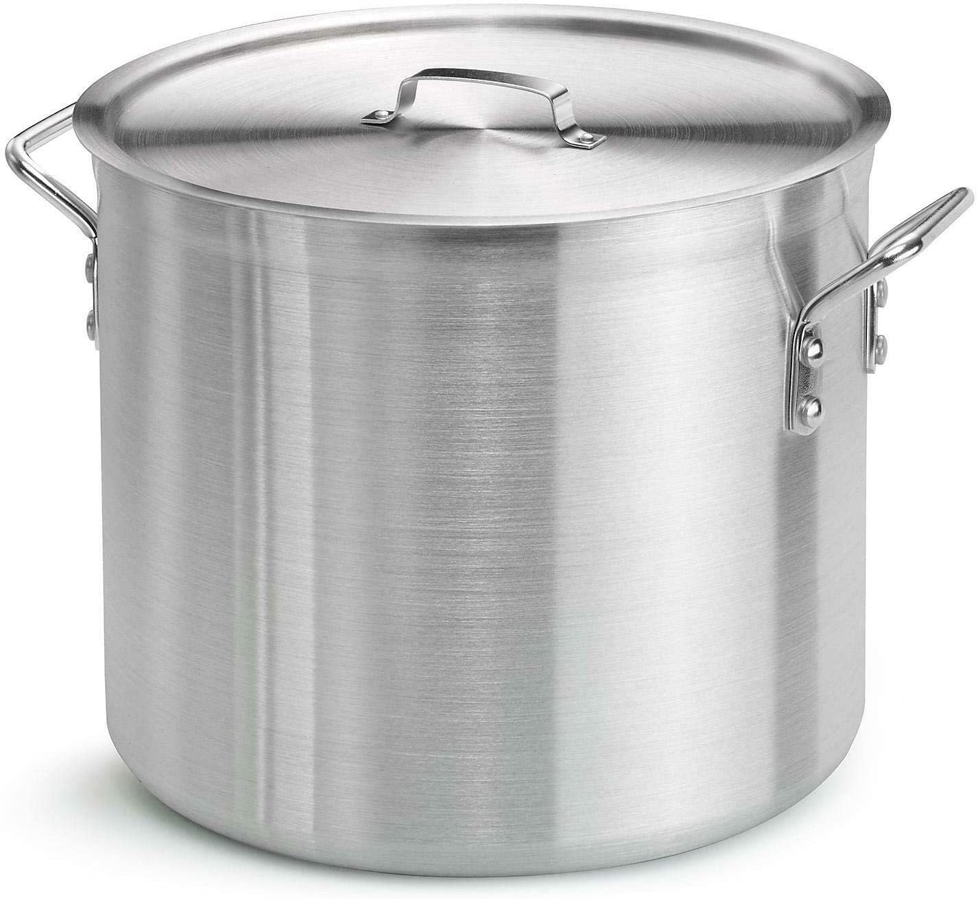 An Item of Member's Mark 24-Qt. Covered Aluminum Stock Pot