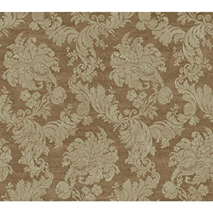 cc7b327aad Image Unavailable. Image not available for. Color  York Wallcoverings  EW6754 Vintage Luxe Regent Damask Wallpaper ...